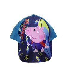 PEPPA PIG cappellino con visiera azzurro e blu con stampa da bambino regolabile