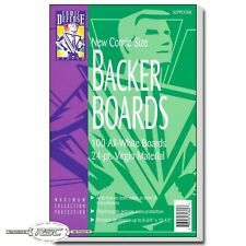"100 - Comic Defense System Current 24pt Comic Backer Boards - 6-3/4"" x 10-1/2"""