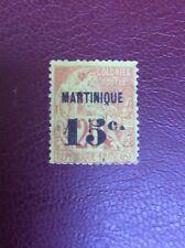 COLONIES FRANCAISES - MARTINIQUE- 1888-91- N° 16 oblit. COTE 150 EUROS