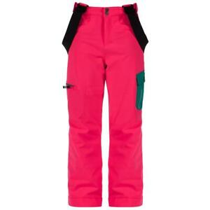 Dare2b Girls Kids Participate Waterproof Breathable Ski Salopettes Trousers Pink