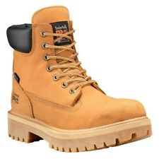 Timberland PRO Direct Attach 6 Inch Soft Toe Wheat Leather Work Boots Size 11
