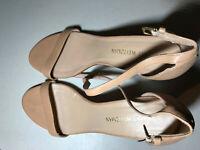 STUART WEITZMAN NearlyNude Ankle Strap Sandal  Women Shoes Size 11 US