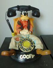 Animated GOOFY Telephone Disney Novelty Speaking Retro Collectable no box