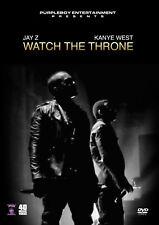 JAY Z KANYE WEST WATCH THE THRONE MUSIC VIDEOS HIP HOP RAP DVD BEYONCE RIHANNA