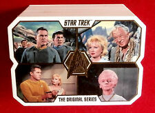 Star Trek Tos 50th, Complete Gold Foil Base Set, 80 cards, Rittenhouse Archives