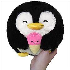 "SQUISHABLE Mini Penguin w/ ice cream 7"" round stuff animal Amazingly soft NEW"