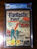 Fantastic Four #13 (1963) - 1st Watcher! 1st Red Ghost! - CGC 3.5 - Stan Lee!