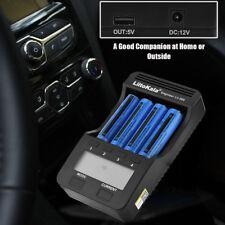 Liitokala lii-500 Caricatore con Schermo LCD per pile 18650/ 26650/14500/AA/ AAA
