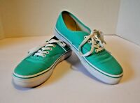 Vans TB4R Youth Skateboard Canvas Shoes Mint Youth Size 4
