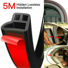 5M L Shape Car Door Rubber Seal Strip Edge Moulding Weatherstrip Hood Trunk Trim