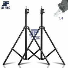 2 pieces Light Stand With 1/4 Screw Head Load 2m For Lighting Studio Softbox