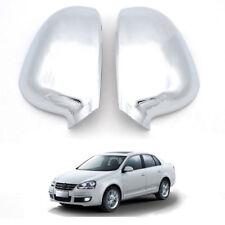 Chrome Exterior Mirror Covers 2Pcs Fit for VW Jetta A5 GOLF EOS Passat Sharan