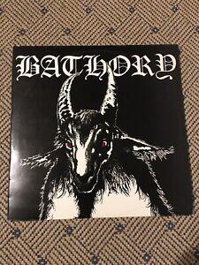 Bathory-Bathory Lp'84 Orginal Sweden Press BMLP-666-1 mit Brain Damage Interview