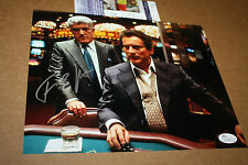"FRANK VINCENT W/JOE PESCI SIGNED 8X10 PHOTO FROM ""CASINO"" JSA CERT BLACKJACK"