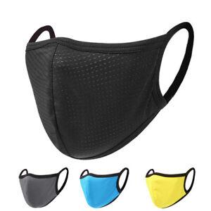 Mesh Dot Breathble Outdoor Riding Running Face Mask for Men Women Face Coverings