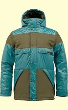 BURTON Men's TWC WARM AND FRIENDLY Snow Jacket - Meltwater/Keef - XL - NWT