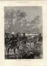 1897 Benin Expedition commerciante trasportate Caton woodville Augustus allhusen