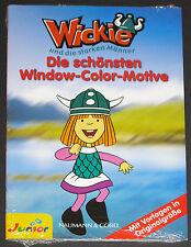 """Window Color Motive """"Wickie und die starken Männer"""", NEU & OVP"""