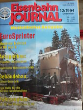 Eisenbahn Journal n°12 1994 - Modellbahn-Ausgabe EuroSprinter - Tr.23