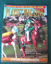 Playset Magazine #47 The Stuart Western figures plus farm playsets of the 1960's
