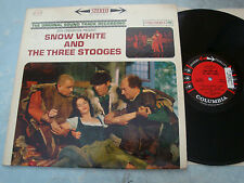 Snow White and The Three Stooges OST LP NM CS8450 1961 Promo/Demo Stereo