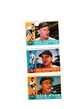 1960 Topps 3-card lot #'s 76, 114 & 193 CHECK THEM OUT