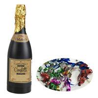 Champagne Bottle Confetti Popper Wedding Celebration Table Decs Party Poppers