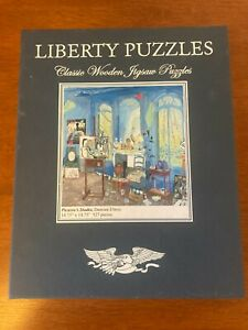 """LIBERTY PUZZLES   """"PICASSO'S STUDIO""""  BY DAMIAN ELWES  527 PIECES"""