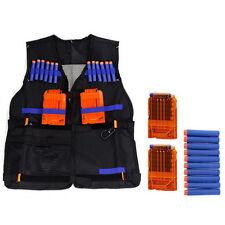 Adjustable Tactical Vest with Storage Pockets for Nerf N-Strike Elite Team Toy!!