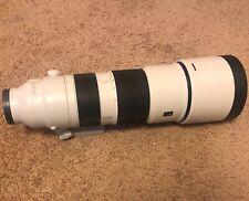 Sony FE SEL200600G 200-600mm F/5.6-6.3 G OSS Lens - White/Black