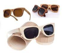 Wooden Frame Polarized 100% UV400 Sunglasses for Men