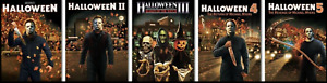 HALLOWEEN 1 - 5 Scream Factory Posters - Limited Edition
