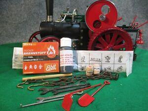 Tool & Accessory Kit Wilesco Steam Engine Mamod Steam Tractor Spanner shovel #7