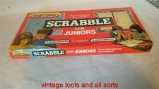 SPEARS GAMES JUNIOR SCRABBLE DOUBLE SIDED BOARD GAME