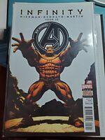 New Avengers #12 VF (2013 Series) Marvel Comic Hickman Deodato Infinity