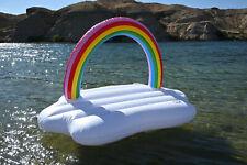 Rainbow Cloud Inflatable Float 96