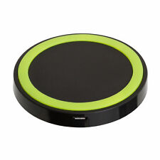 QI Wireless black green Charger Pad For iPhone Samsung Galaxy S5 LG Nexus Nokia
