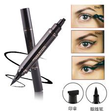 Winged Eyeliner Stamp Waterproof Makeup Cosmetic Eye Liner Pencil Black Liquid F