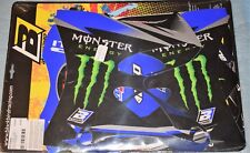 kit stickers déco REPLICA 2013 MONSTER ENERGY YAMAHA YZ 125 250 2002/2014 neuf