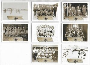2003 Backcheck: A Hockey Retrospective 20 Cards Set National Library of Canada