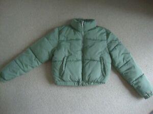 New Look girl's light green puffer jacket 14-15 - still online, current stock