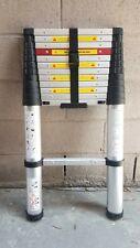 Portable Aluminum Telescopic Extension Heavy Duty Ladder 12.5FT 330 LB