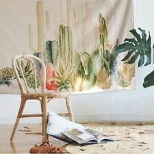 Tapestry Wall Hanging Living Room Cotton Cactus Desert Plant Dorm Home Decor LH