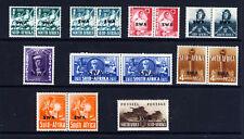 SOUTH WEST AFRICA 1941-3 War Effort Set Overprinted SWA SG 114 to SG 120 MINT