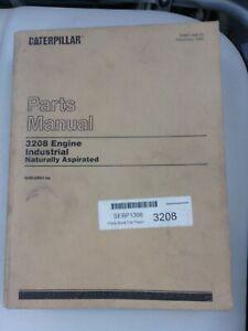 Caterpillar 3208 Engine Industrial parts manual. Genuine Cat book