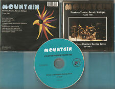 Mountain The -CD- Live At Pineknob Theatre Detroit 1985 - CD v. 2006 - Neuwertig