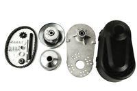 Jeremywell Torque Converter Clutch kit 30 Series 1 inch 10T #41/40/420 Chain