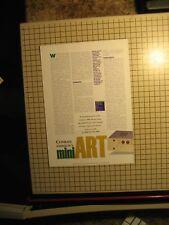 Conrad Johnson Premier 16 LS Original Preamp Brochure