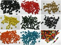 1000 pcs Round Wood Seed Beads 4mm Wooden Beads Colour for Choice