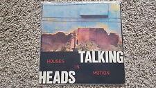 """Talking Heads-houses in motion UK 12"""" VINYL"""